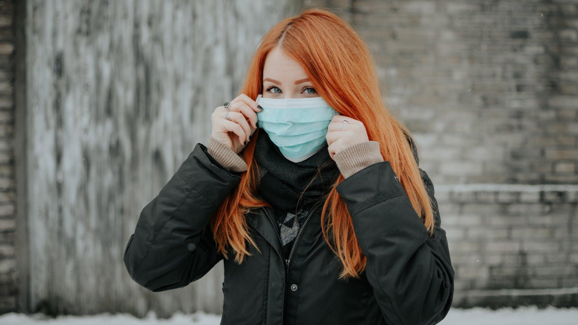 Koronavírus szájmaszk