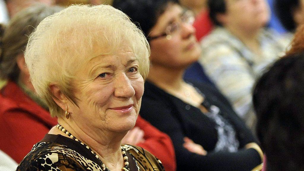 Kósáné Kovács Magda 80 évesen hunyt el. (Fotó: MTI/Kovács Attila)