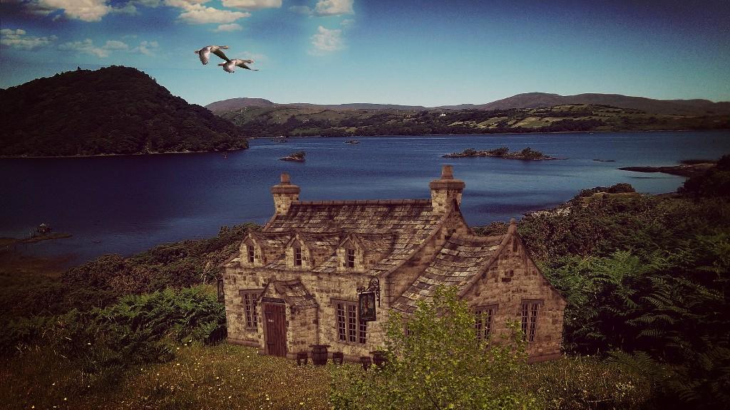 A gyönyörű Írországban nem nagy művészet ilyen képeket lőni (fotó: Pixabay)