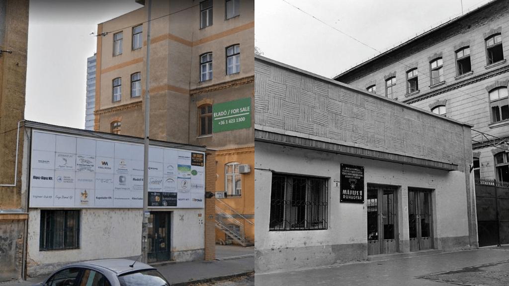 A Május 1. ruhagyár régen és most