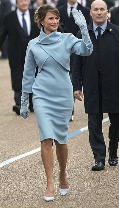 melania trump szobor szlovénia first lady