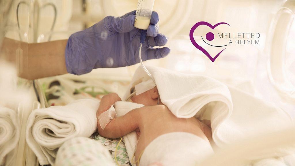 Zérő szeparációt hirdetnek a koraszülött babákért