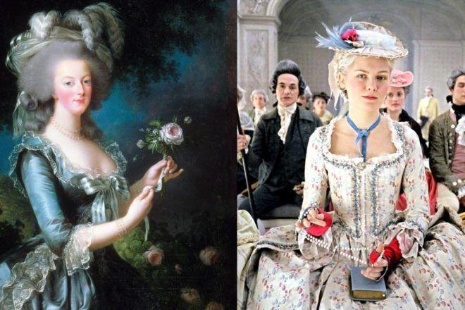 Kirsten Dunst, mint Marie Antoinette