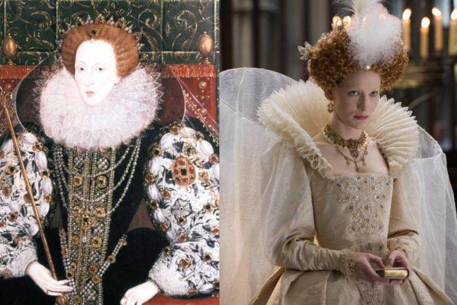 Cate Blanchett az Erzsébet filmekben