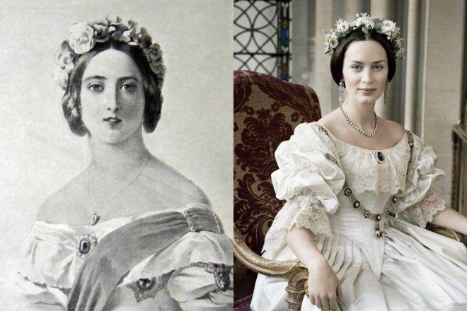 Emily Blunt és Viktória királynő