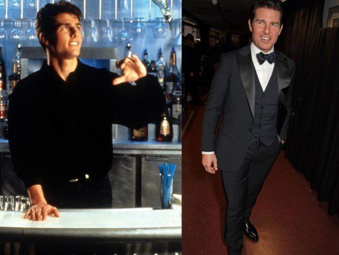 Tom Cruise akkor és most