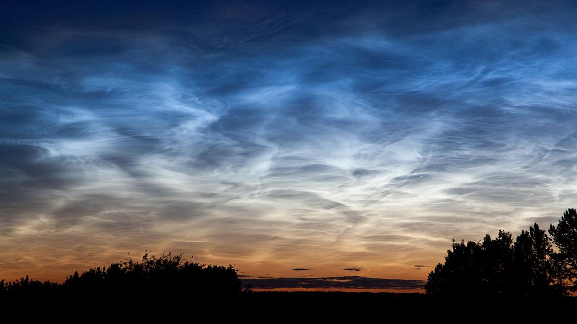 Éjszakai világító felhőket észleltek Magyarországon