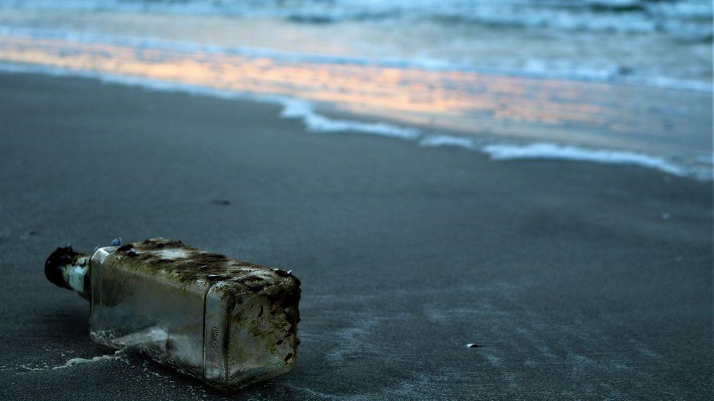 Átszelte az óceánt a palackposta