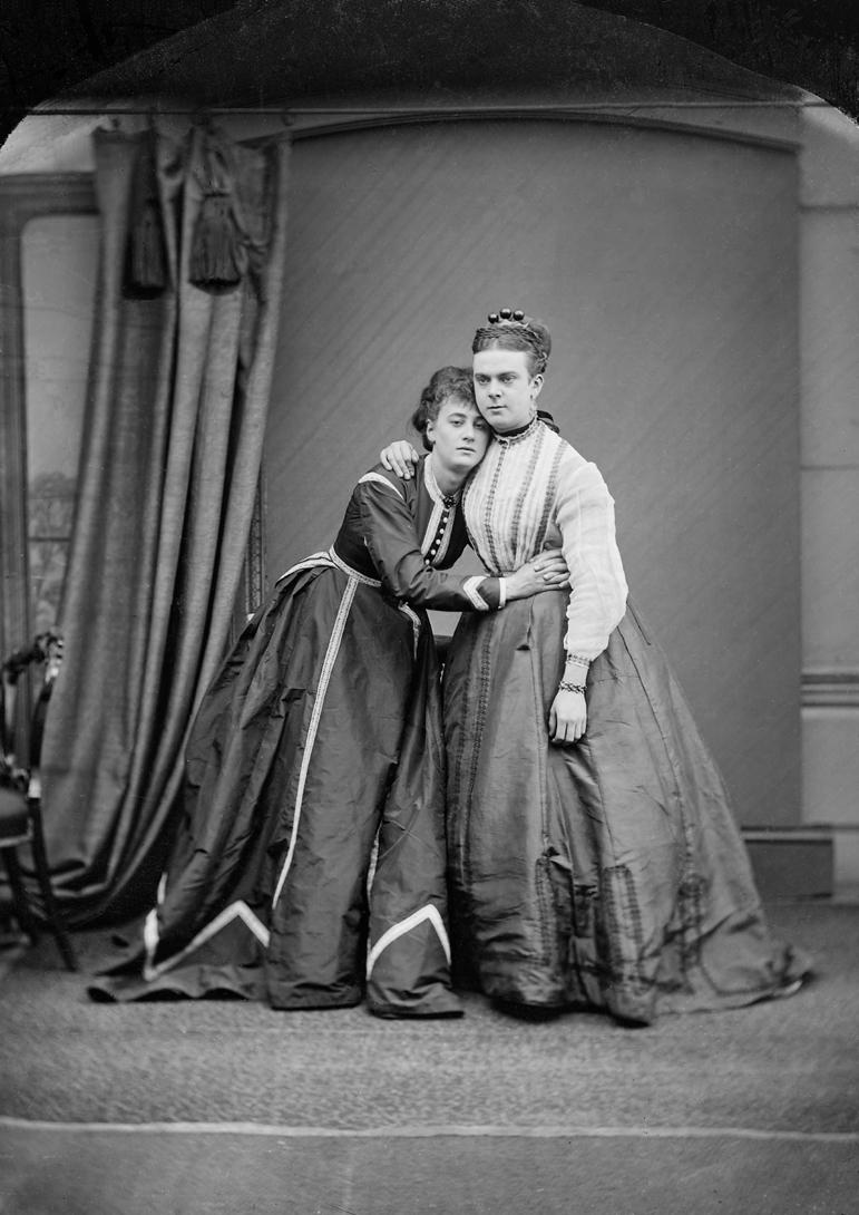 Fanny és Stella 1969-ben (fotó: Wikipedia)