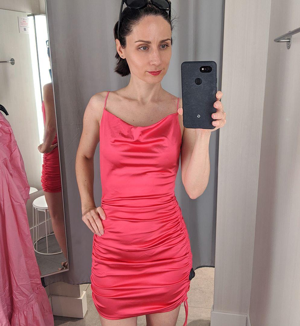 pink miniruha H&M