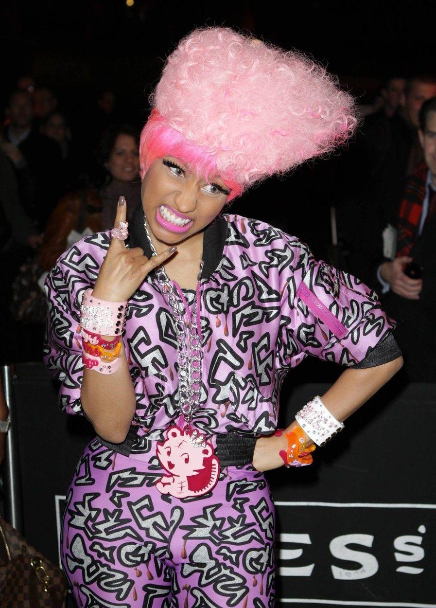 Nicki Minaj pink haja