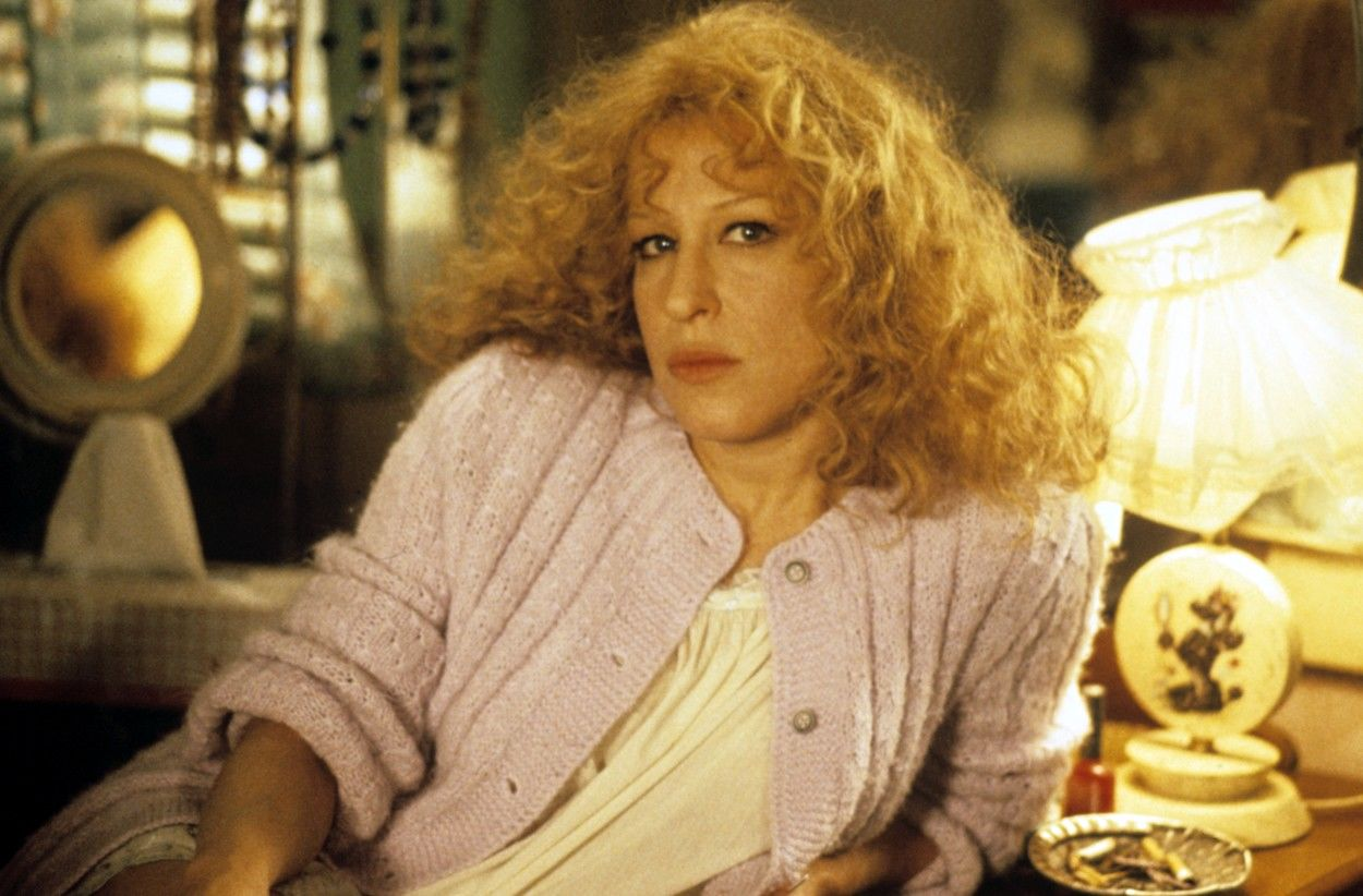 Bette Midler fiatalon