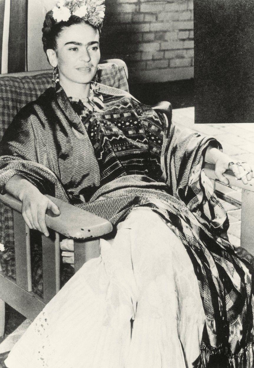 Frida Kahlo San Francisco-ban, 1939-ben.