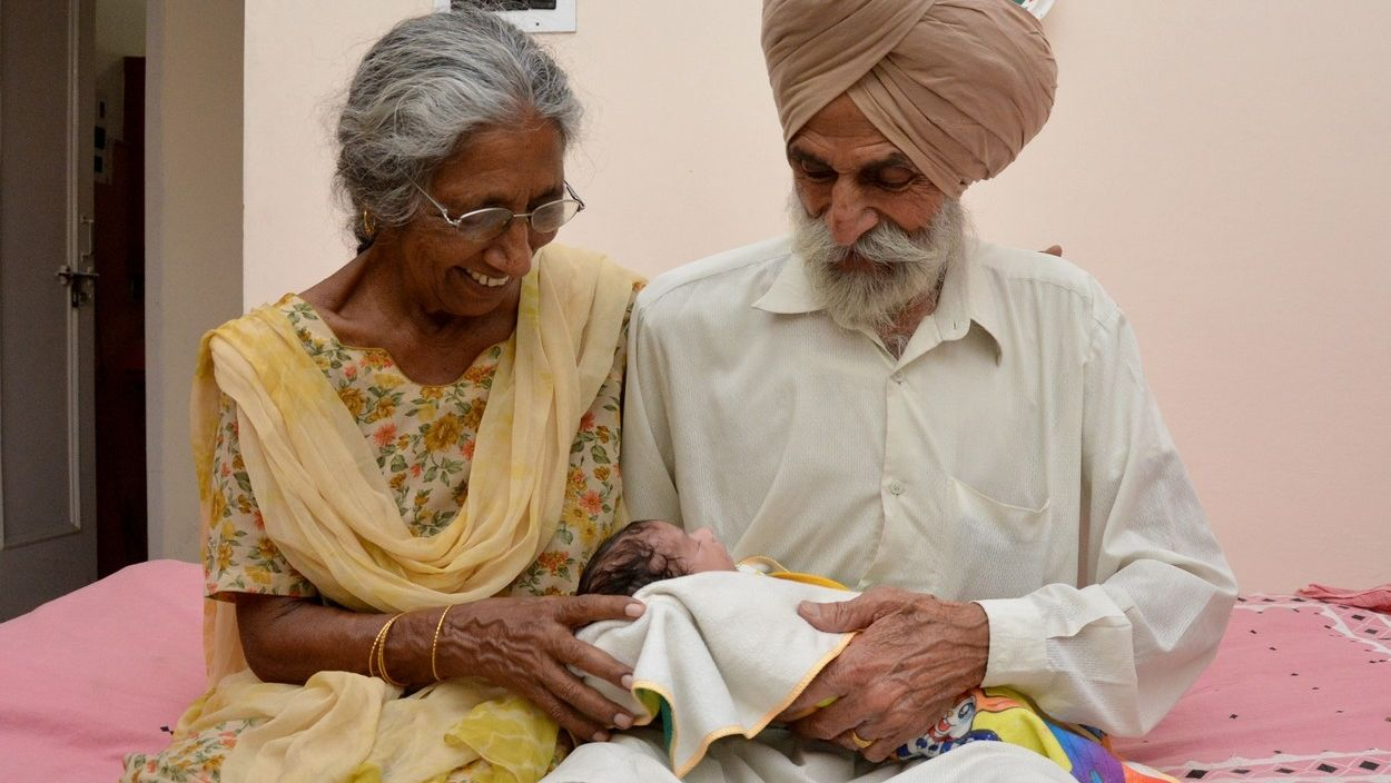 Singh Gill és felesége, Daljinder Kaur