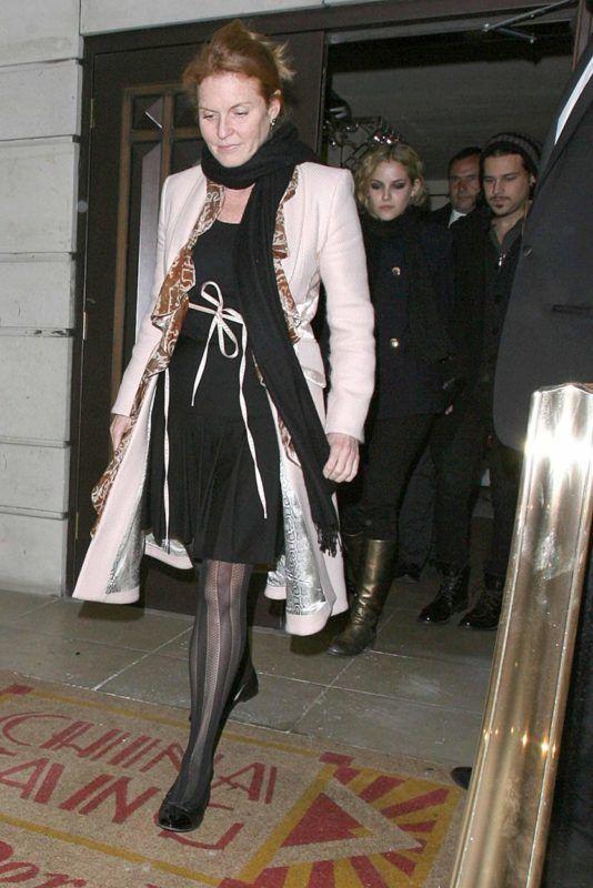 Sarah Ferguson és Lisa Marie Presley 2009-ben