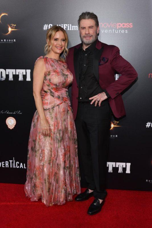 Kelly Preston és John Travolta 2018-ban