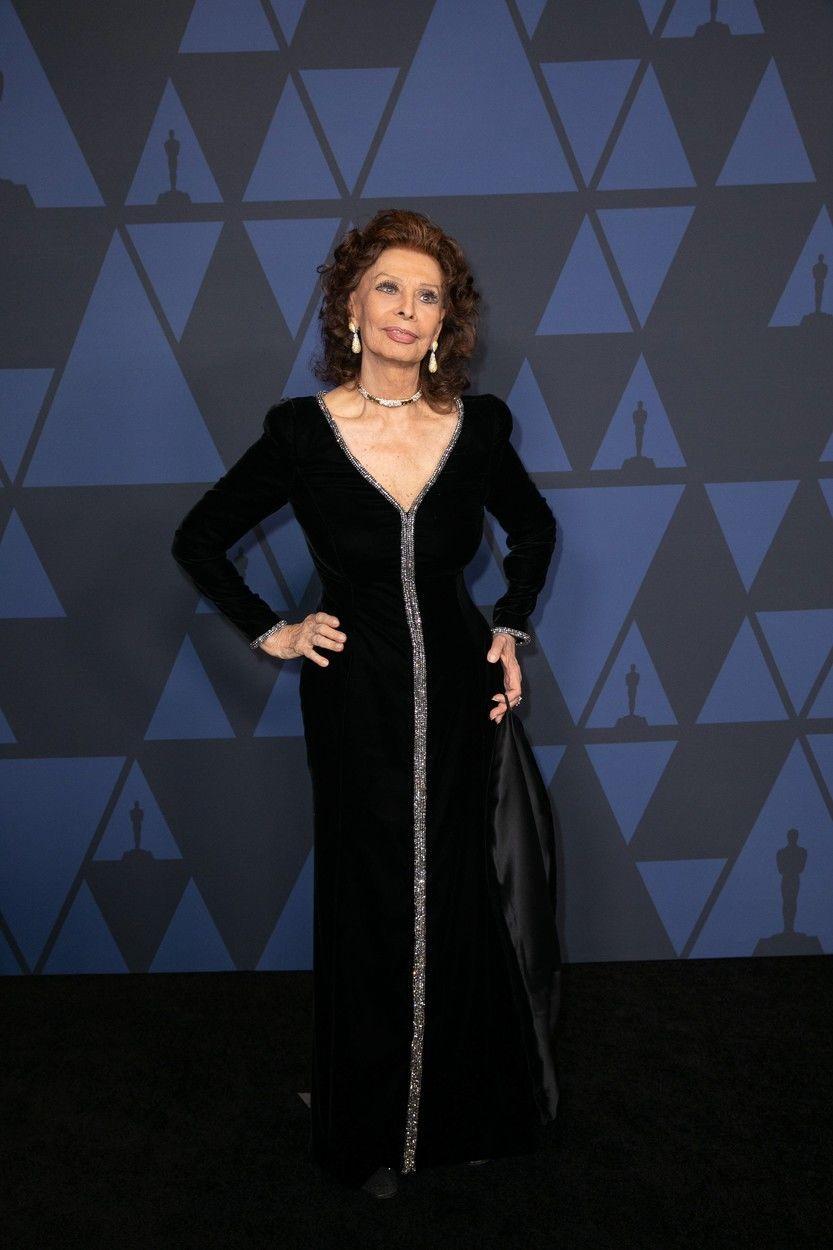 Sophia Loren alakja hibátlan
