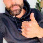 Ricky Martin pink haja