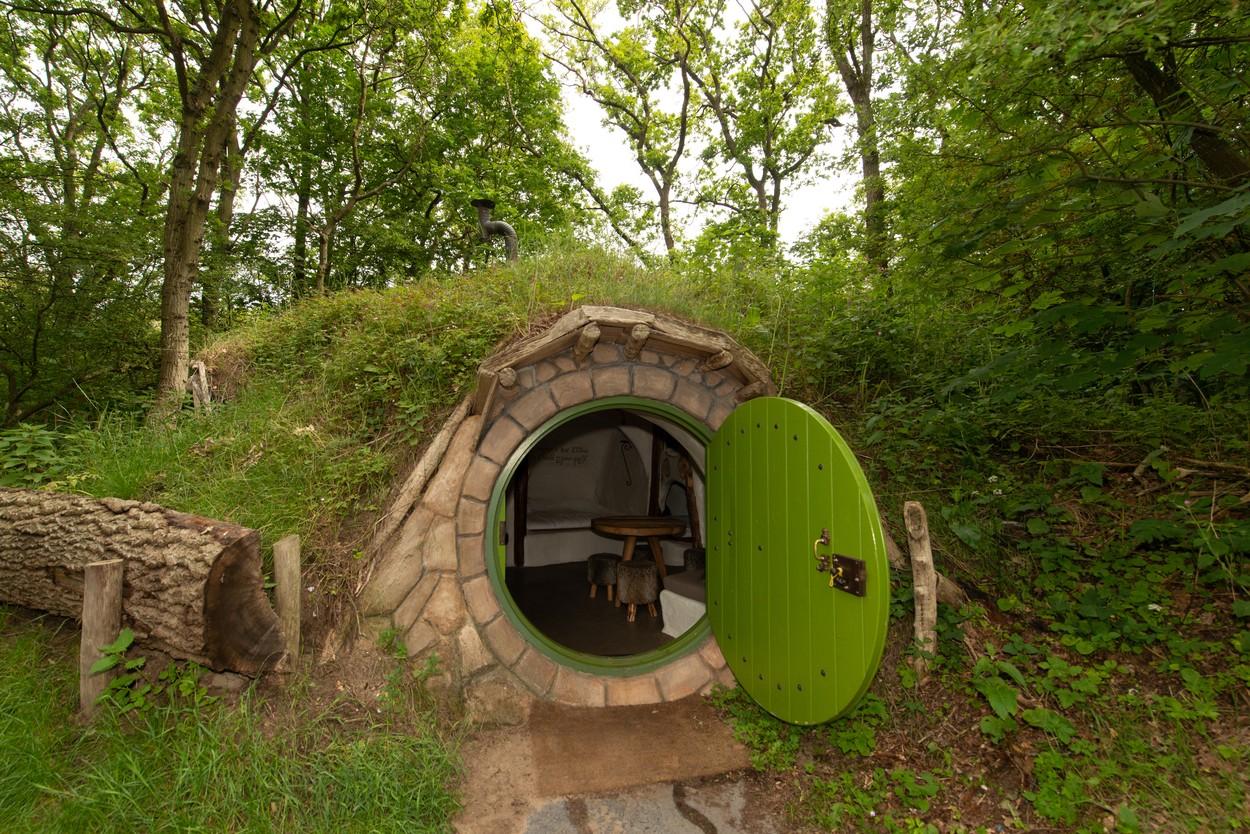 Természetközeli hobbitház Hollandiában Kép: Profimedia