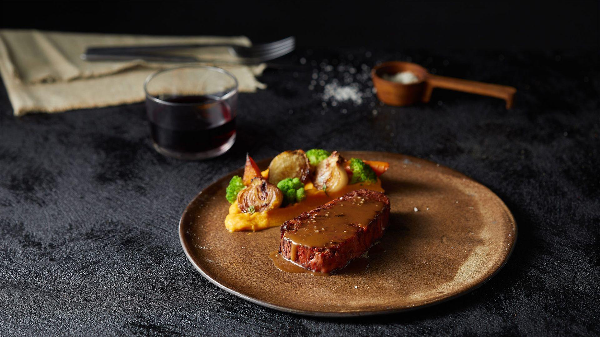 3D-nyomtatóval készült vegán steaket hoztak létre