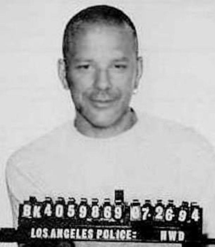Mickey Rourke a rendőrségi fotózáson 1994 nyarán (Photo by Kypros/Getty Images)