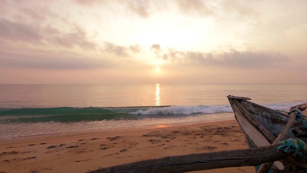 Festői a naplemente Srí Lankán (fotó: Pixabay)