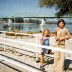 Stohl András két nagyobbik lánya, Luca és Rebeka ezen a 2000-ben készült képen