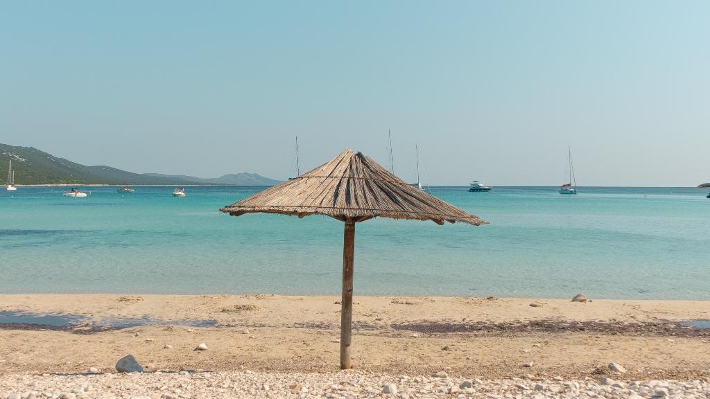 Gyönyörű strandok Horvátországban
