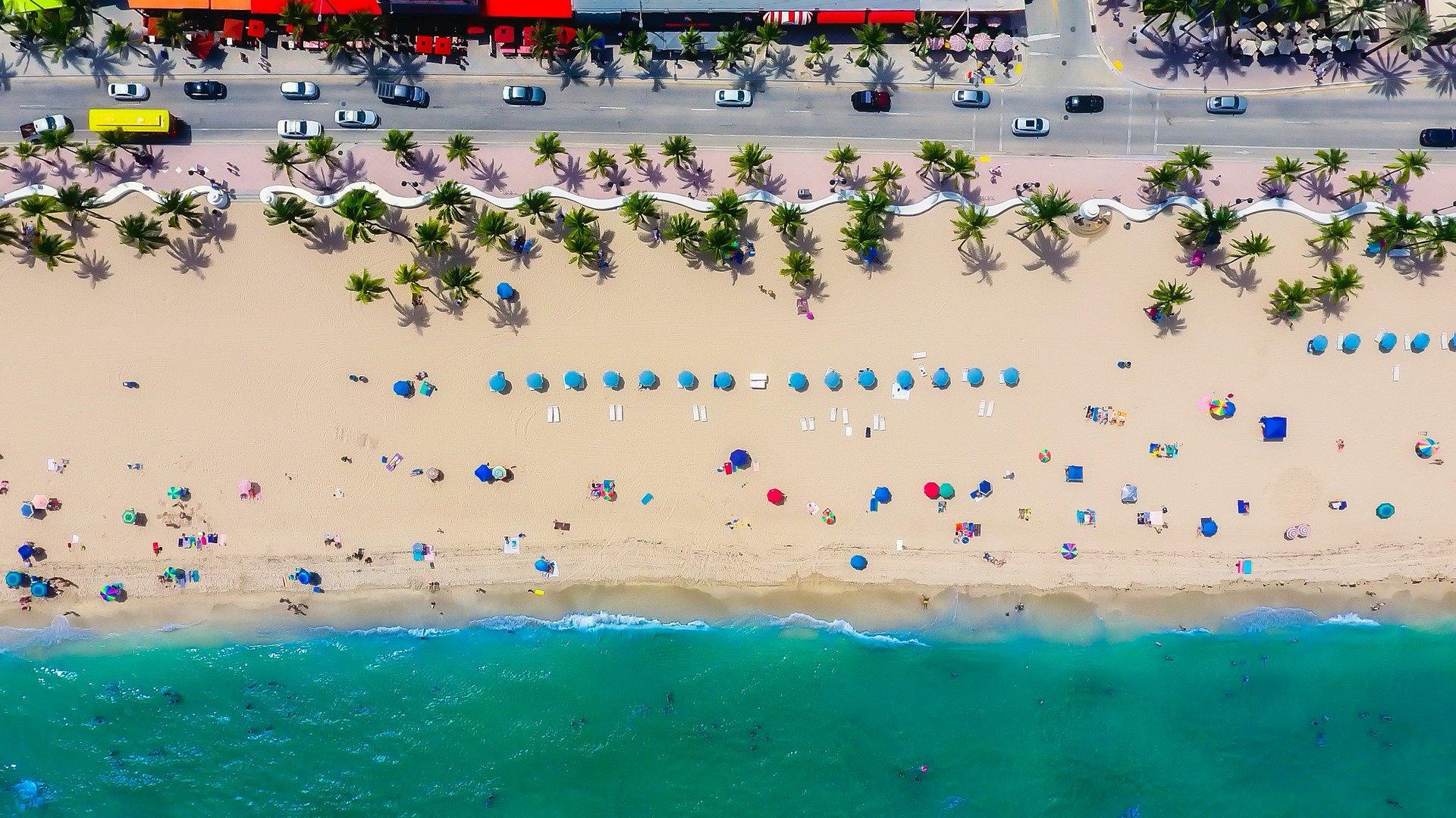tengerpart florida strand