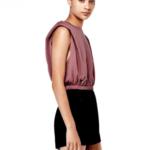 Zara válltöméses crop top