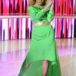 Liptai Claudia zöldben