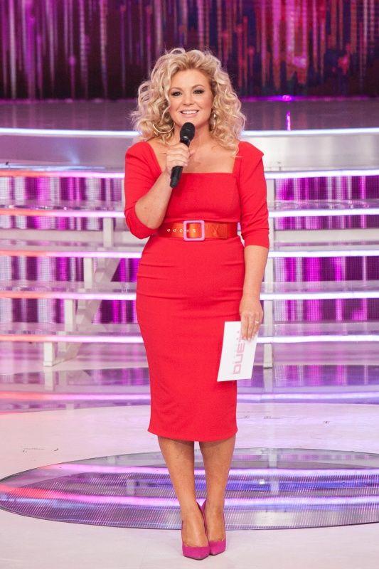 Liptai Claudia pirosban
