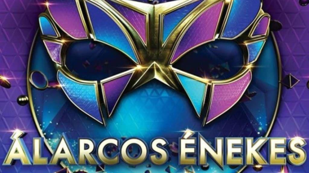 álarcos énekes logó