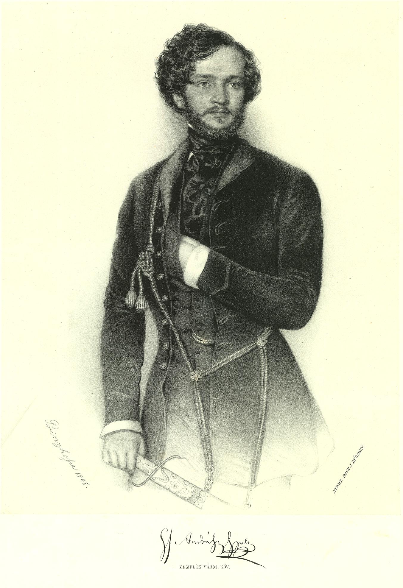 Andrássy Gyula itt még szép, fiatal és rokonszenves (forrás: Wikipedia)