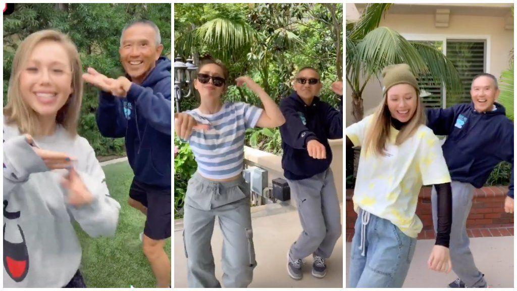 apa-lánya tánc TikTok
