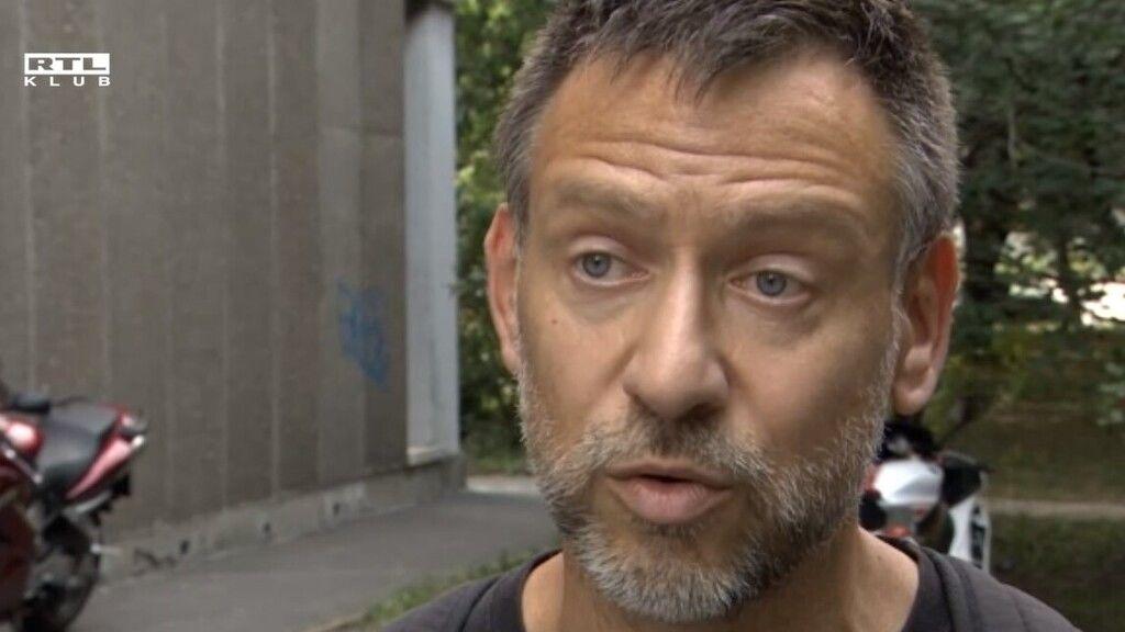 Megrázó interjút adott Bronz Gábor, a férj, akinek feleségére esett egy öngyilkos férfi