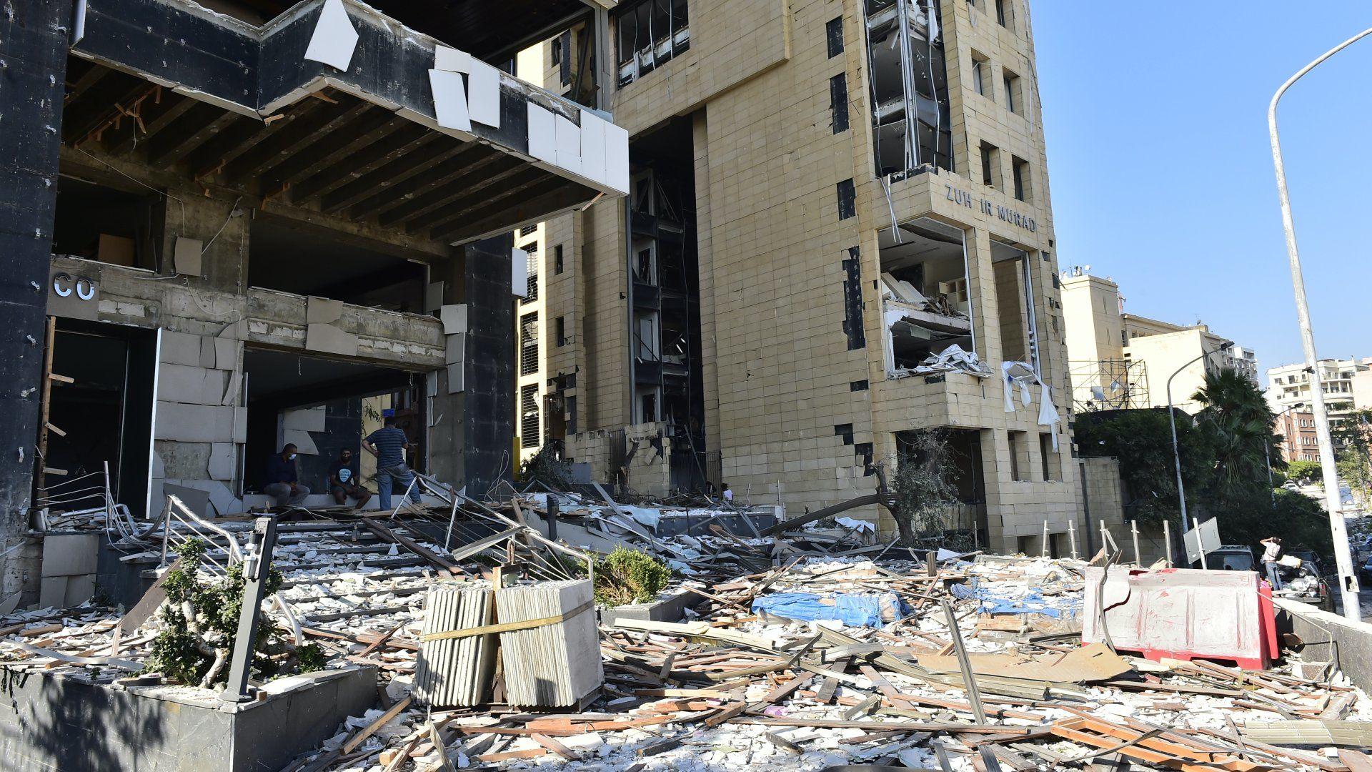 Bejrút robbanás