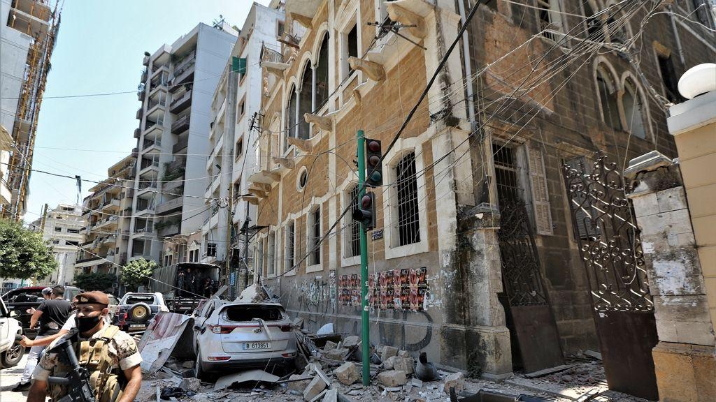 Megrázta a szülészeti osztályt is a bejrúti robbanás.