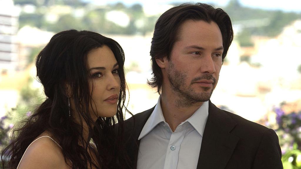 Monica Bellucci oldalán a 2003-as Cannes-i Filmfesztiválon. Ezzel a borostával igazán szexi volt Keanu Reeves. (Fotó: Getty Images)