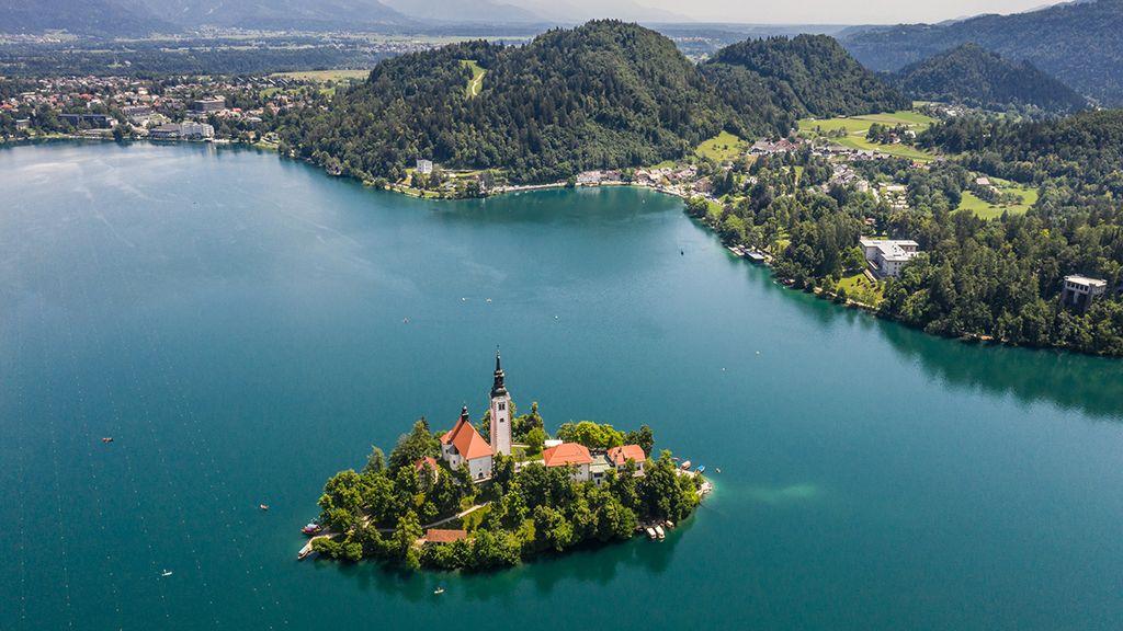Szlovénia egyik legszebb tava Bled (Fotó: Pexels.com)