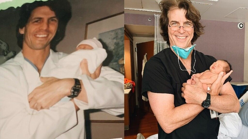 Huszonöt éve ugyanaz az orvos segítette világra, aki most a fiát