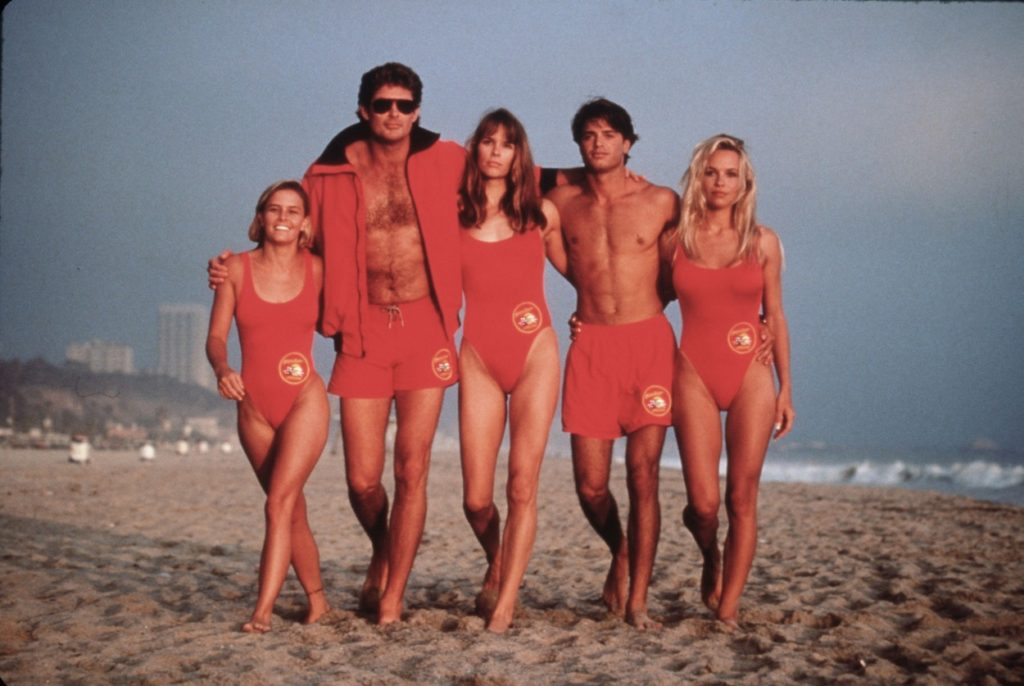 David Hasselhoff a Baywatch című sorozatban