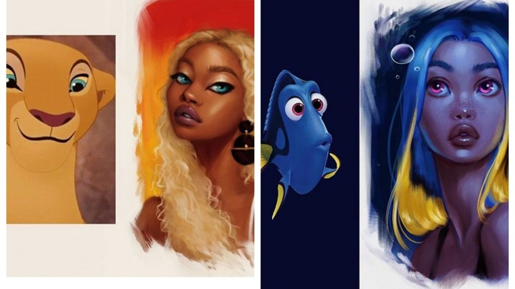 Disney állatokból varázsol embereket ez a művész