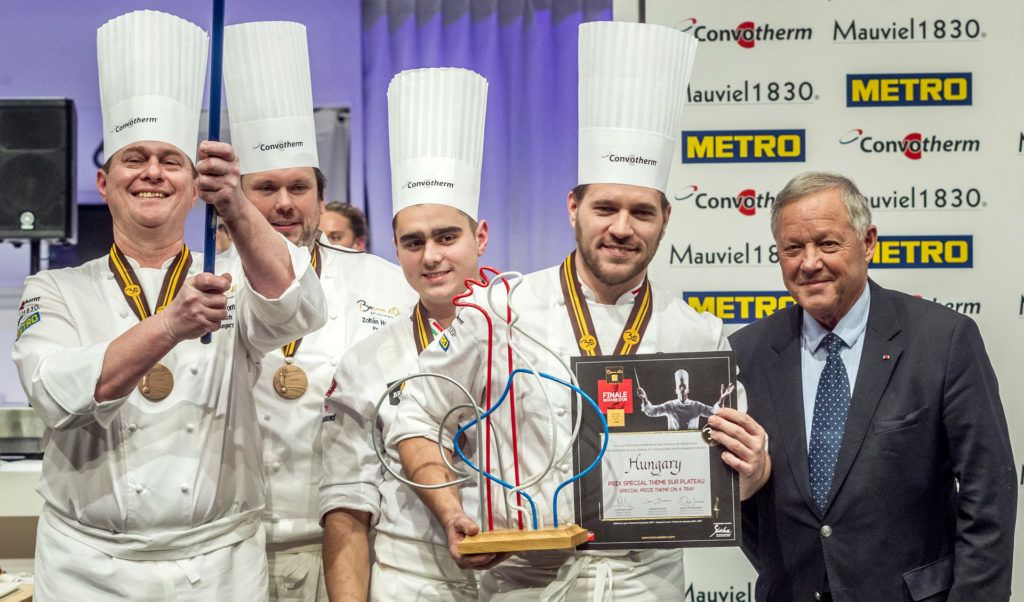 Vomberg Frigyes a Bocuse d'Or-on