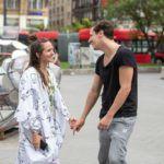 Eke Angéla és hat évvel fiatalbb párja, Budavári Balázs