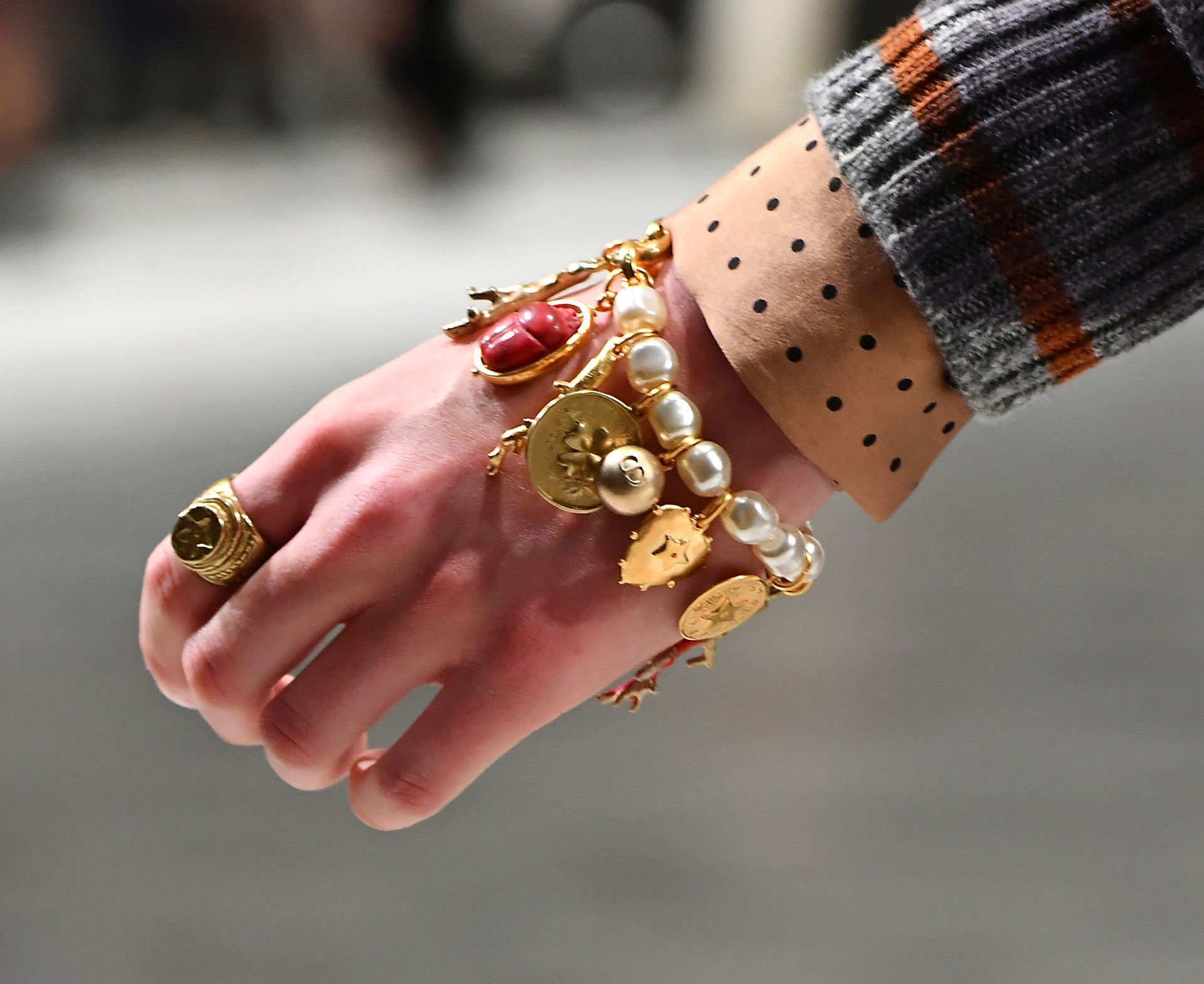 Pecsétgyűrű - Dior