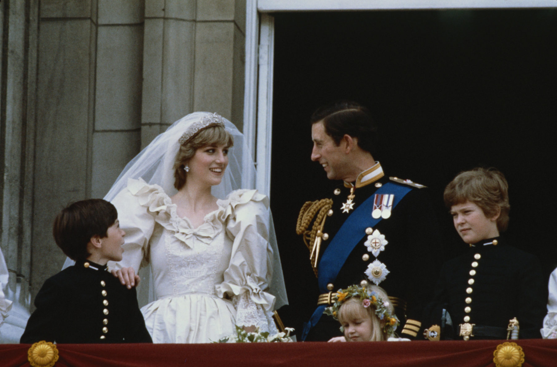 Clemmie Hambro Diana és Károly esküvőjén