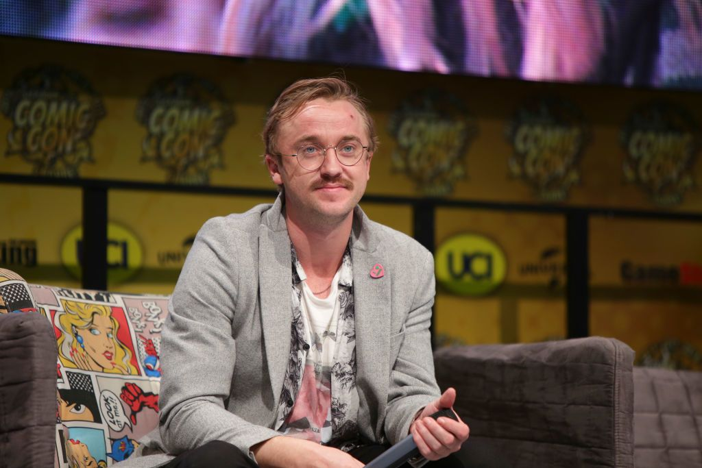 Tom Felton 2019-ben a dortmundi Comic Con-on