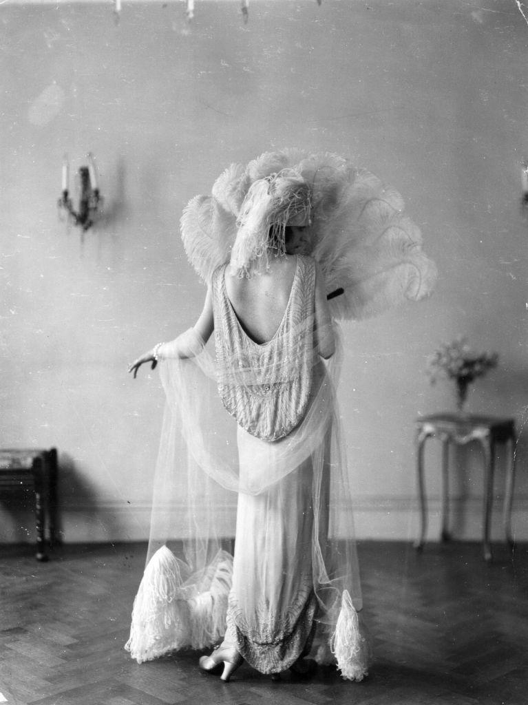 Estélyi ruha a húszas évekből