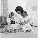 Jackie Kennedy és gyermekei